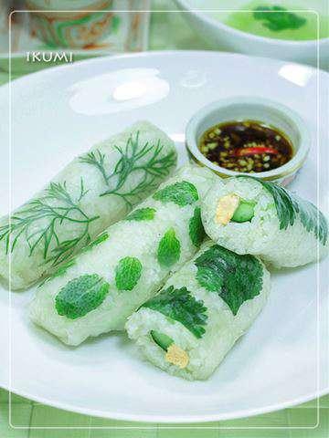 みんなのレシピ アジアンチキンライスで 恵方生春巻きのレシピ 作り方 Happy Recipe ヤマサ醤油のレシピサイト