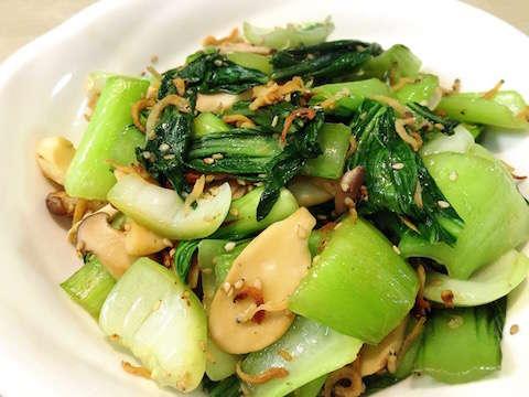 人気 レシピ チンゲン 菜