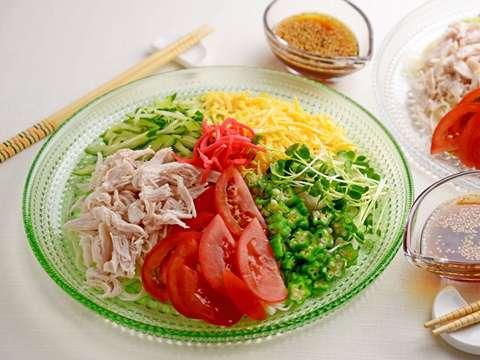 タレ レシピ 冷やし中華 すっきり美味しい!冷やし中華のタレ(つゆ)の作り方/レシピ:白ごはん.com