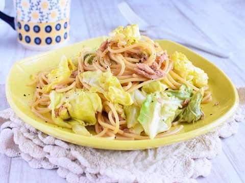 パスタ ツナマヨ ツナマヨ大葉パスタはカロリ―高いけど、腹持ちよしのうまレシピ