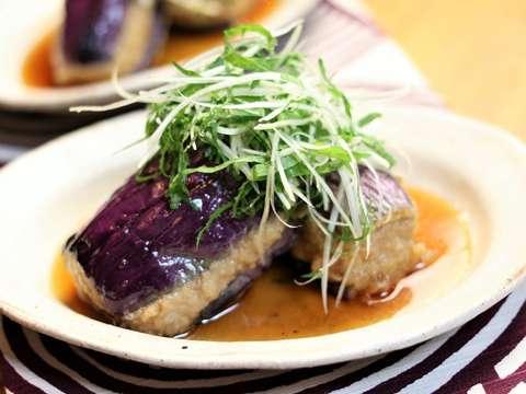 茄子と豚肉のはさみ揚げのレシピ・作り方 | Happy Recipe(ヤマサ醤油 ...