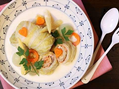 キャベツ 白菜 ロール