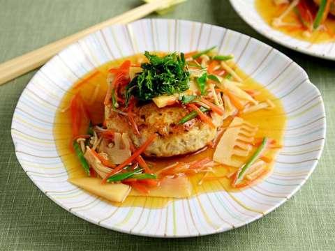 豆腐 ハンバーグ