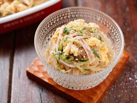 味がしみしみ♡ごちそう春雨サラダのレシピ・作り方   Happy Recipe ...