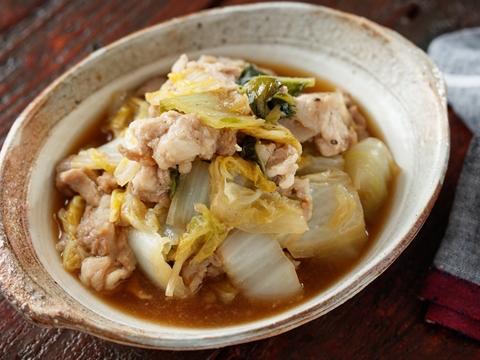 豚こまと白菜のあんかけのレシピ 作り方 Happy Recipe ヤマサ醤油